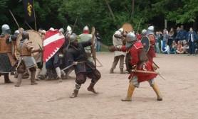 Csorna - csatajelenet